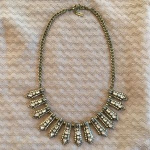 BaubleBar Crystal Statement Necklace